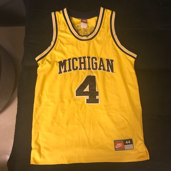 outlet store 34ffb 21700 Chris Webber Michigan Nike College Jersey